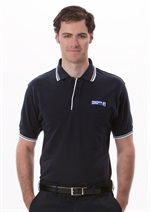 M2CPNW  Mens Contrast Polo
